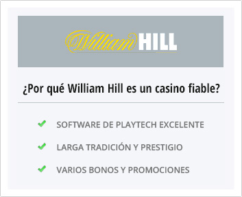 por que elegir william hill casino