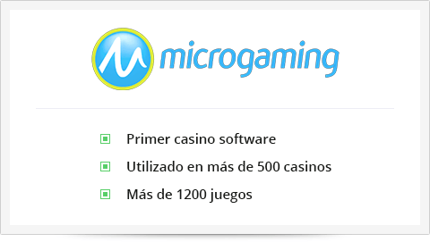 Microgaming proveedor de software