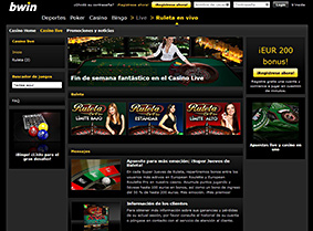 Bwin Casino en vivo