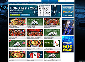 william hill casino gama de juegos
